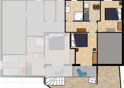 Appartement-Ruzmarin-Hochparterre-Grundriss
